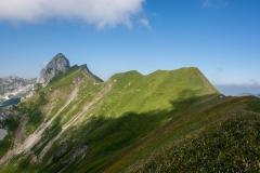 La crête du Mont Valeur