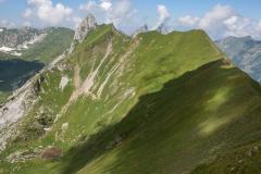 La crête du Mont Valeur, du Mont Gardy à la Grande Jumelle