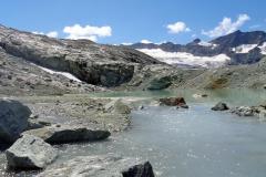 Paysage glacière