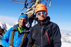 Avec Thierry au sommet