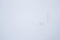 Croix de Felay au hasard du brouillard...
