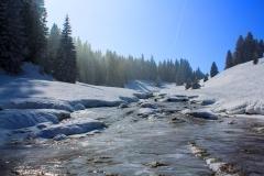 Petit ruisseau gelé deviendra grand