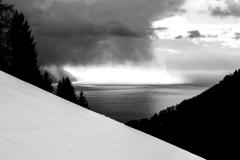 Luminosité mise en valeur par le noir et blanc